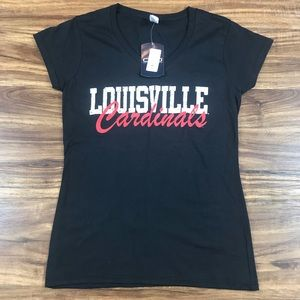 Louisville Cardinals Women's Top Size Small